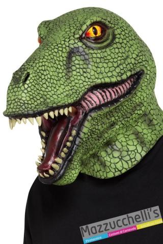 maschera dinosauro preistoria film carnevale halloween altre feste a tema - Mazzucchellis