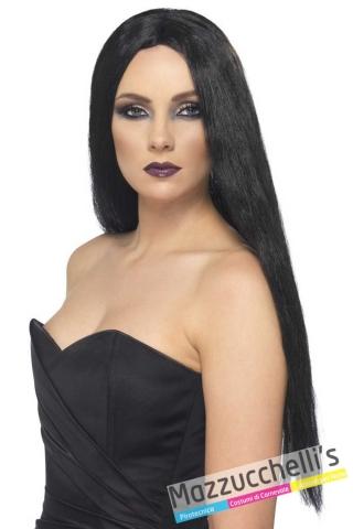 parrrucca-nera-lunga-liscia-morticia-halloween---mazzucchellis-25880