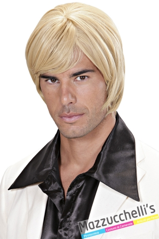 parrucca bionda corta professionale Dream Hair Quality carnevale halloween o altre feste a tema - Mazzucchellis