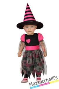 costume-bambina-neonata-strega-halloween---Mazzucchellis