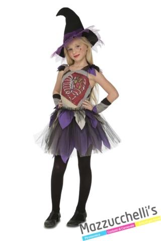 costume-bambina-strega-scheletro-horror-halloween----Mazzucchellis