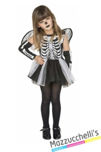 costume-scheletro-bambina-halloween---Mazzucchellis