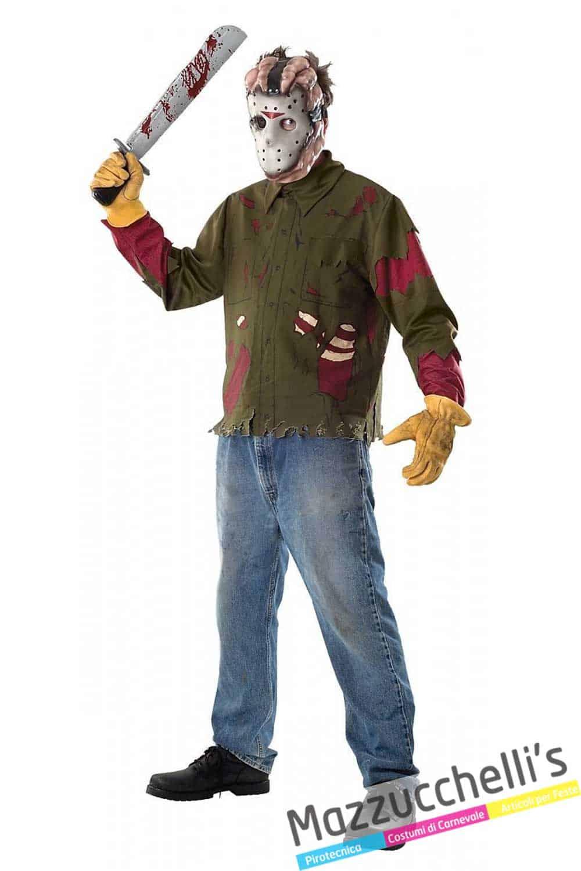 più colori migliore a buon mercato una grande varietà di modelli Costume Jason Venerdì 13