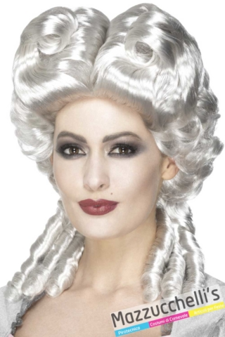 parrucca-dama-barocco-maria-antonietta-carnevale---Mazzucchellis