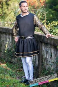 costume sartoriale cavaliere spagnolo d'epoca - Mazzucchellis