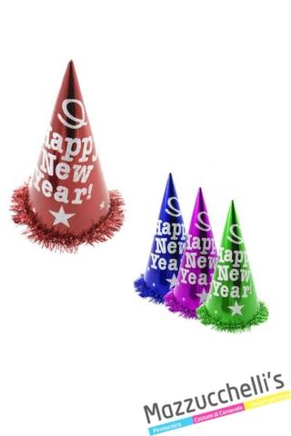 cappelli-happy-new-year-buon-anno-colorati---Mazzucchellis