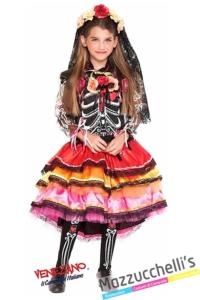 costume-il-giorno-della-morte-bambina-Messicana-day-of-the-dead---Mazzucchellis