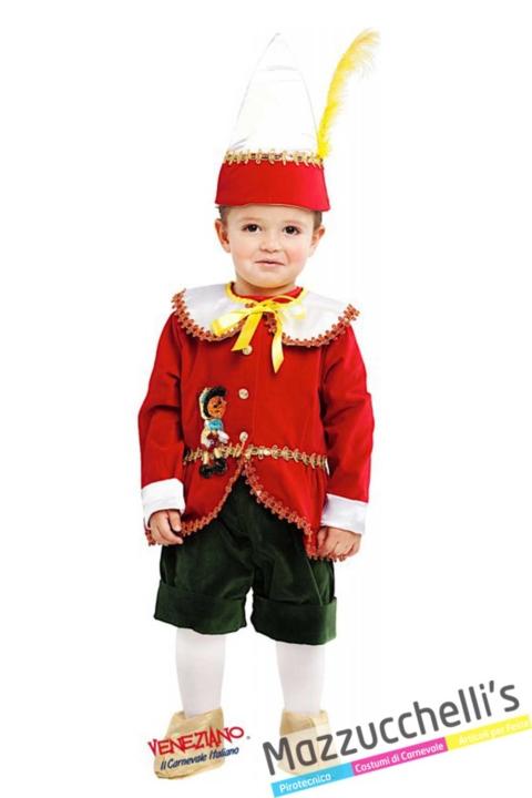 costume-pinocchio-bambino-fiaba---Mazzucchellis