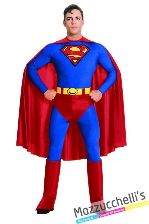 COSTUME-UOMO-ADULTO-SUPEREROE-SUPERMAN-FILM-CARTONE---MAZZUCCHELLIS