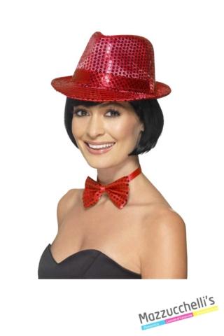 Cappello-Rosso-con-Paillettes-Anni-20---Mazzucchellis