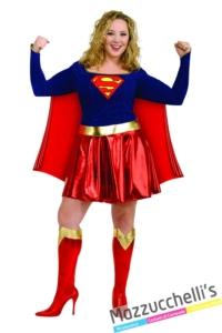 costume-donna-adulta-supereroina-film-cartone-animato-supergirl-curvy---Mazzucchellis