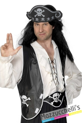 kit-pirata-corsaro-cintura-gilet-cappello---Mazzucchellis