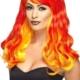 parrucca-donna-lunga-mossa-rossa-e-gialla---Mazzucchellis