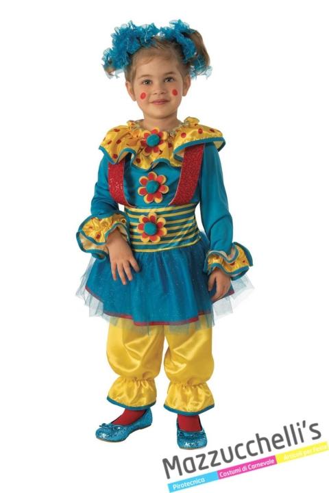 costume-bambina-clown-pagliaccio-circo---Mazzucchellis