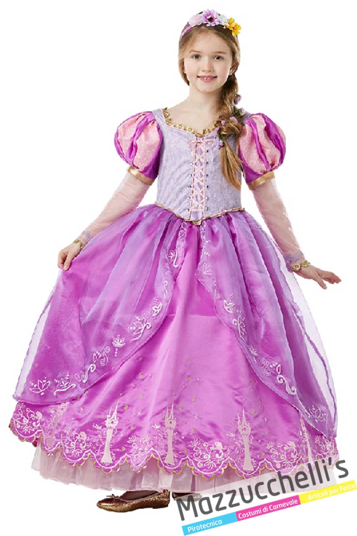 A basso prezzo prezzo moderato nuovi prodotti per Costume Rapunzel in vendita a Samarate Varese da Mazzucchellis
