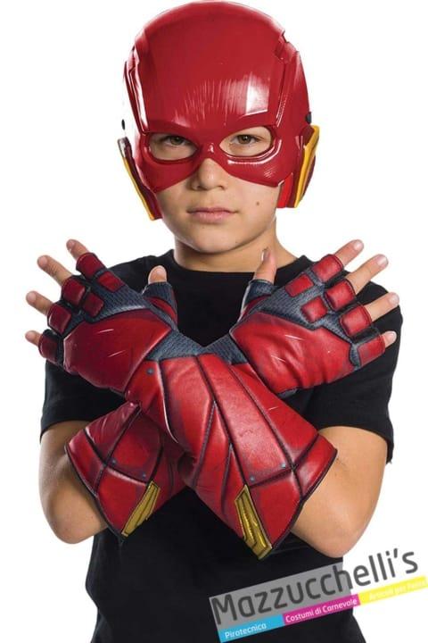 guanti-rossi-flash-supereroe-ufficiale---Mazzucchellis