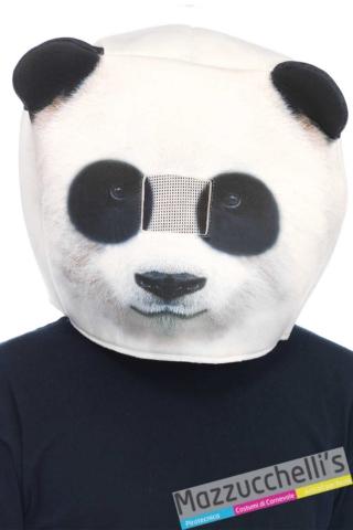 maschera-animale-panda---Mazzucchellis
