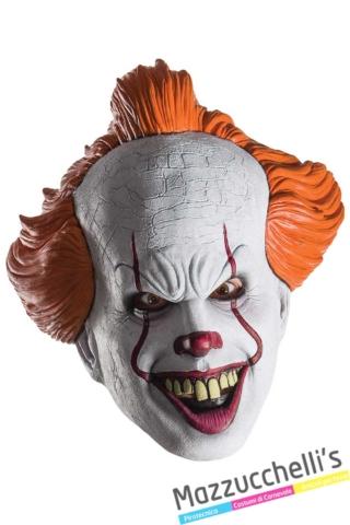 maschera-halloween-horror-film-pagliaccio-pennywise-it---Mazzucchellis