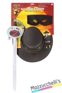 set-kit-zorro-originale-film-supereroe---Mazzucchellis