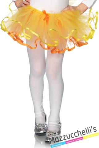 tutù-bambina-giallo-halloween---Mazzucchellis