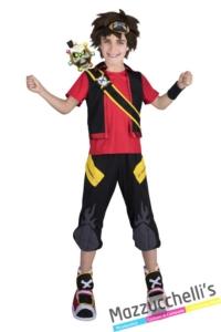 Costume-Capitan-Zak-Storm-cartone-animato---Mazzucchellis