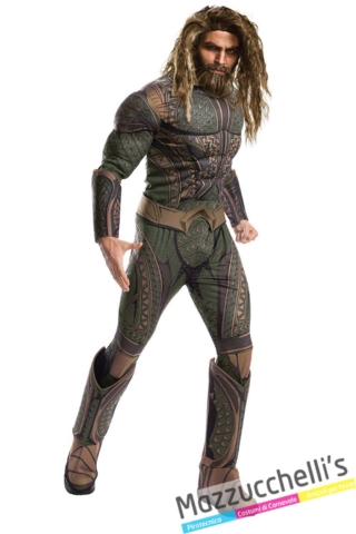 costume-Supereroe Aquaman Justice-League-dc-comics---Mazzucchellis