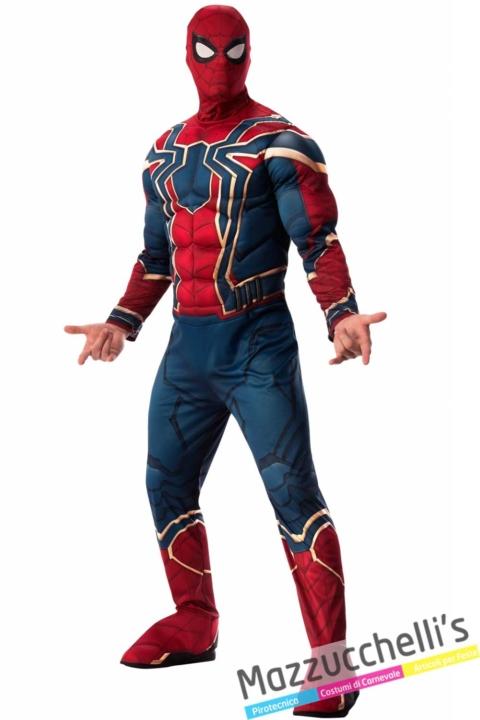 costume-Uomo-Ragno-Supereroe-Iron-Spider™-del-fantastico-filmAvengers---Infinity-War-marvel---Mazzucchellis