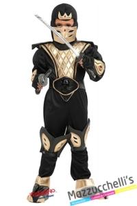 costume-bambino-ninja-guerriero---Mazzucchellis