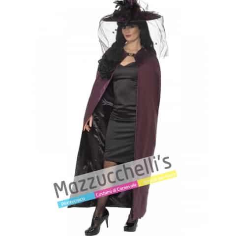 Mantello viola strega halloween horror - Mazzucchellis