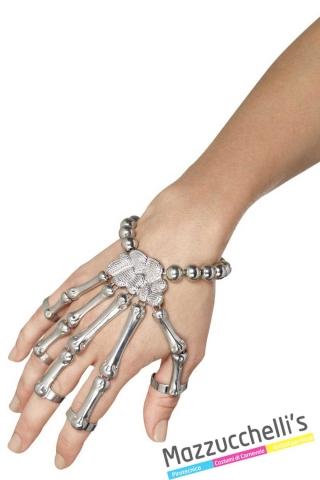 braccialetto-scheletro-halloween-horror---Mazzucchellis