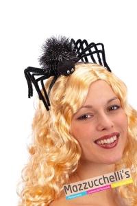 cerchietto-ragno-nero-halloween-horror---Mazzucchellis