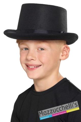 cilindro-cappello-nero-bambino-elegante---Mazzucchellis