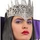 corona-regina-in-tessuto-argento-glitter---Mazzucchellis