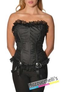 corsetto-donna-nero-scheletro-halloween-horror---Mazzucchellis