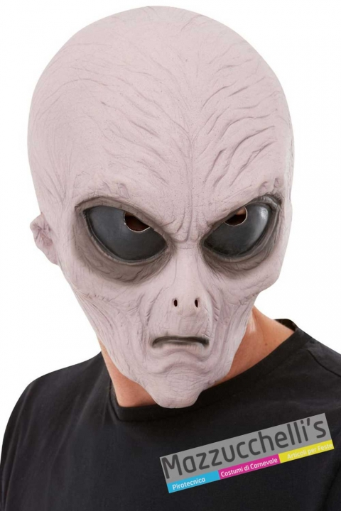 maschera-alieno-halloween-horror---Mazzucchelis