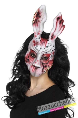 maschera-halloween-horror-coniglio-alice---Mazzucchellis