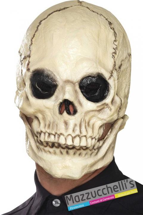 maschera-scheletro-horror-halloween---Mazzucchellis