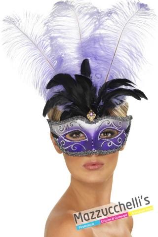 maschera-veneziana-viola-elegante---Mazzucchellis