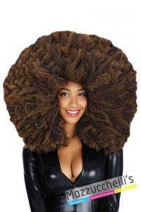 parrucca-afro-castana---Mazzucchellis