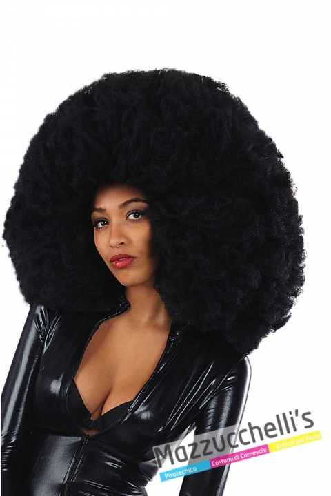 parrucca-afro-nera---Mazzucchellis