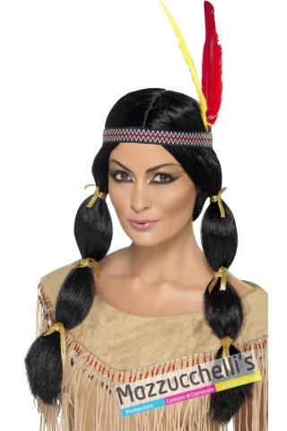 parrucca-indiana-pellerossa---Mazzucchellis