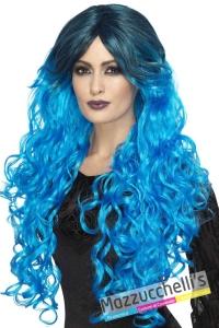 parrucca-lunga-mossa-azzurra-halloween---Mazzucchellis