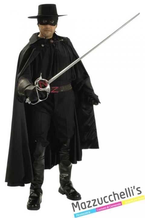 costume-Grand-Eritage-del-fantastico-giustiziere-mascherato-e-abile-spadaccinoZorro---mazzucchellis