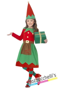 costume-bambina-elfo-aiutante-di-babbo-natale---Mazzucchellis