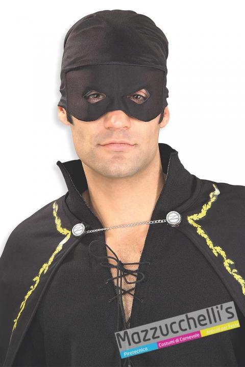 maschera-adulto-zorro-cartone-film---Mazzucchellis