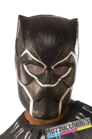 maschera-supereroe-black-panther-pantera-nera-ufficiale-marvel---mazzucchellis