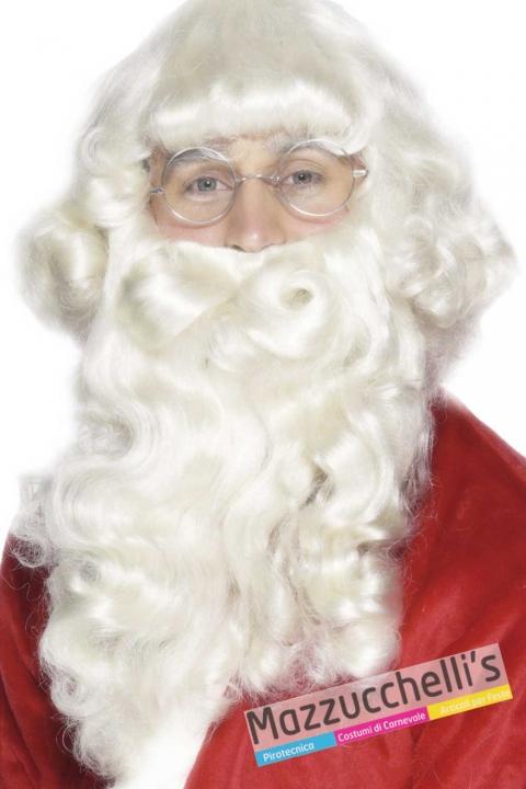 parrucca-bianca-con-barba-babbo-natale---Mazzucchellis