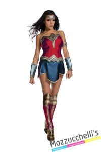 COSTUME-DONNA-SEXY-FILM-SUPEREROE-WONDER-WOMAN-Justice-League --MAZZUCCHELLIS