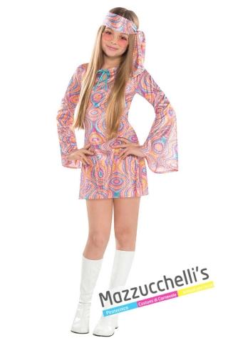 Costume-ragazza-anni-'70-disco-diva-hippie-carnevale---mazzucchellis