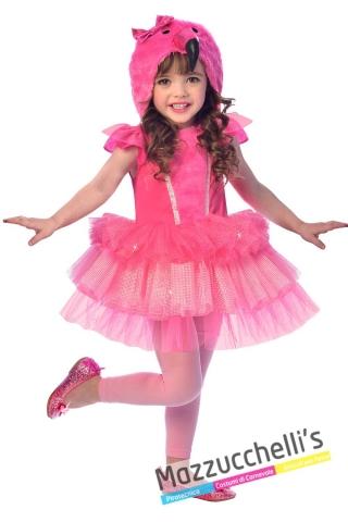 costume-bambina-flamingo-fenicottero-animale-rosa---mazzucchellis